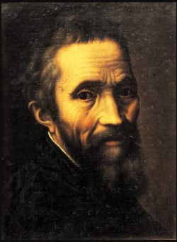 Portrait of Michelangelo Buonarroti