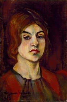 Suzanne Valadon Self-Portrait 1898